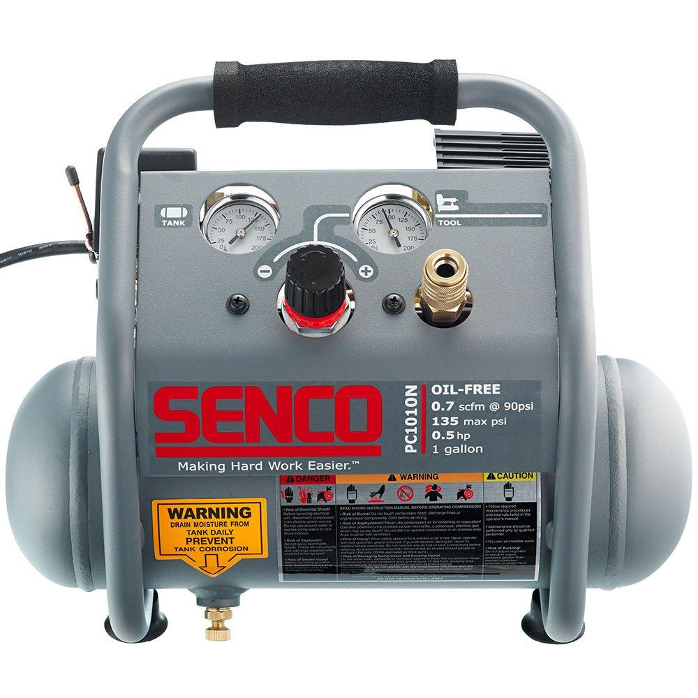 Малошумный безмасляный воздушный компрессор Senco PC1010N